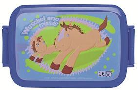Oferta Fiambrera de plástico caballos