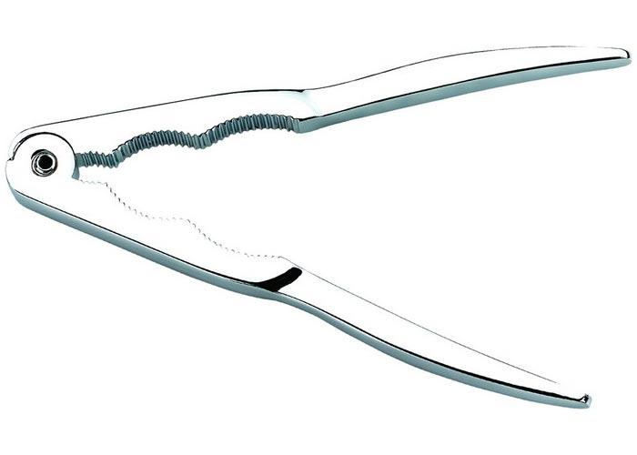 Oferta Cascanueces en aluminio cromado. Muelle Zamack. Iris