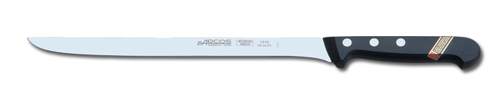 Oferta Jamonero Flexible Arcos Inox 24 cm