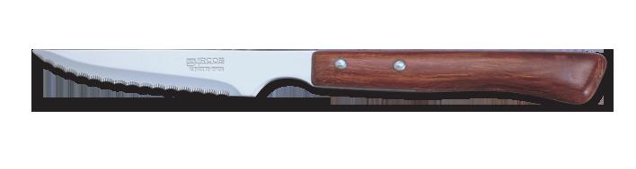 Oferta Cuchillo mesa Perlado Chuletero Arcos M/madera Comprida Inox 11