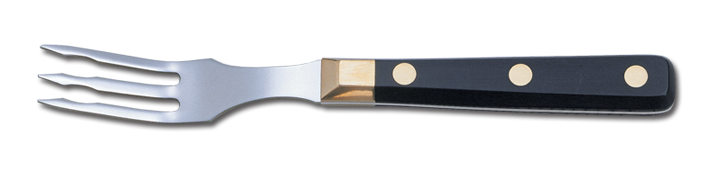 Oferta Tenedor Arcos M/Polipropileno Negro Inox