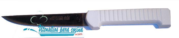 Oferta Chuchillo Oficio Arcos m/Plastico blanco Inox 11 cm
