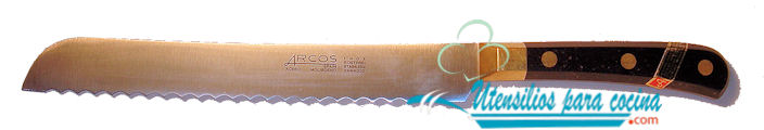 Oferta Chuchillo pan Arcos Inox m/negro 20 cm