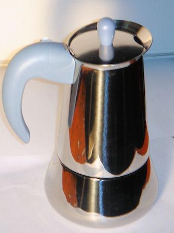 Oferta Cafetera inox Oasis 10 tazas