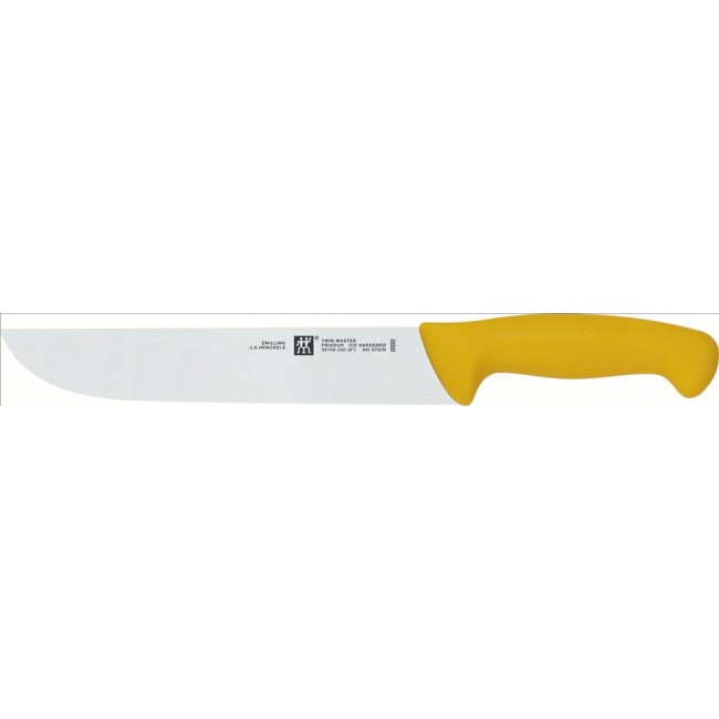 Oferta Cuchillo Carnicero Twin Master Amarillo 230 mm