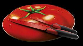 Oferta Conjunto 2 cuchillos con tabla de cortar