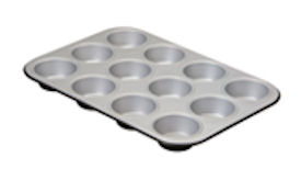 Oferta Molde Muffins 12 piezas Negro & Plata