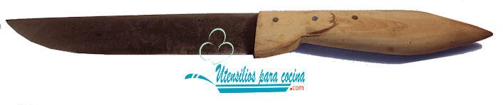 Oferta Cuchillo Pallares Carnicero m/Boj  A/C 2.6×15 cm