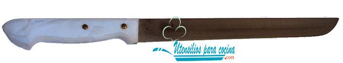 Oferta Cuchillo Pallares Jamonero m/nacar Inox 2.2×23 cm