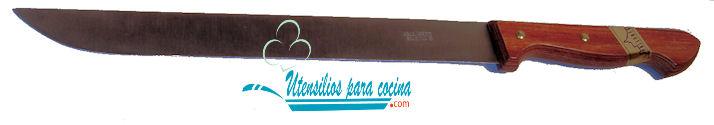 Oferta Cuchillo Pallares Jamonero m/madera Inox 2.2×23 cm