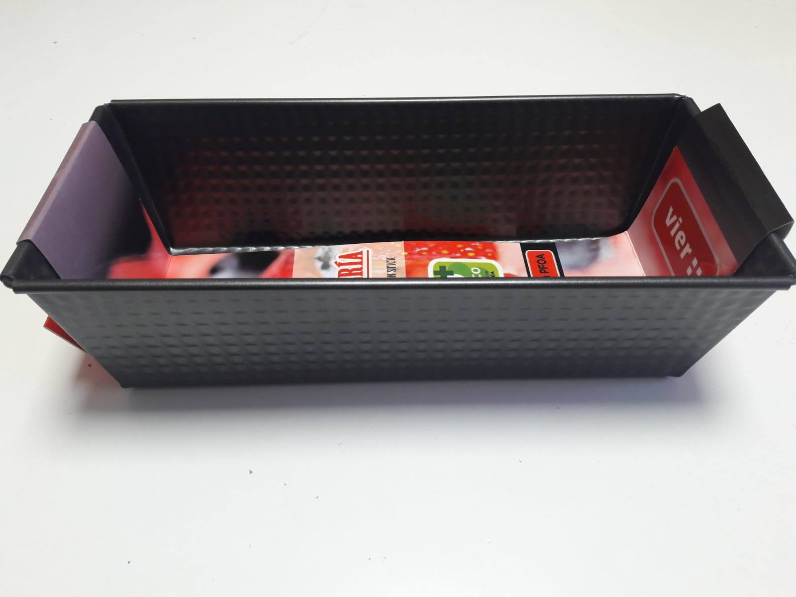 Oferta Molde bizcocho antiadherente vier 21x12x8